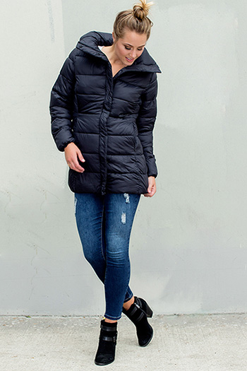 Women Packable Parka