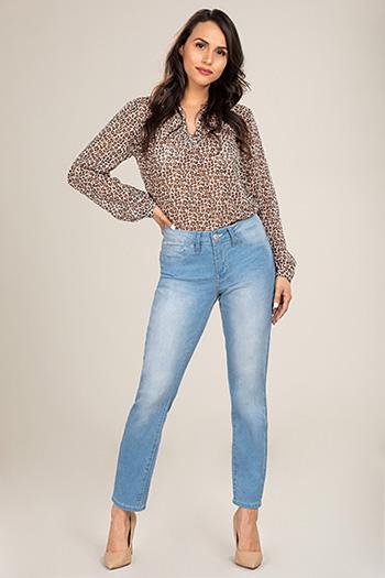 Women Petite Basic Denim Skinny Jean