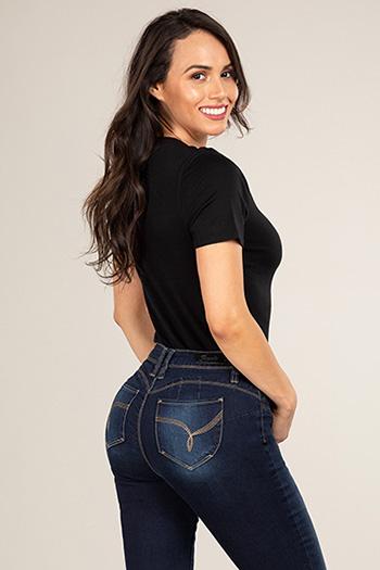 Women Petite WannaBettaButt Skinny Pant