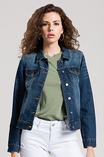 Women Basic Denim Jacket