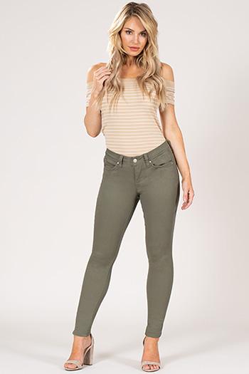 Women WannaBettaButt Stretch Twill Skinny Jean