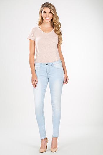 Women Basic Skinny Jeans