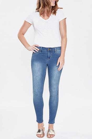 Women Basic Denim Skinny Jean