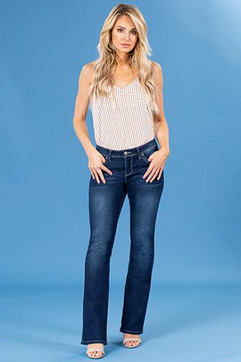 Women WannaBettaButt Mid-Rise Bootcut Jeans