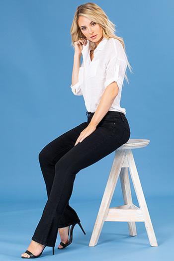Women Mid-Rise Denim Bootcut Jean