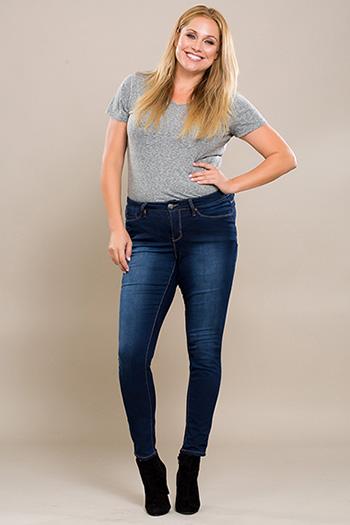 Women Plus Size Super Soft Skinny Jean