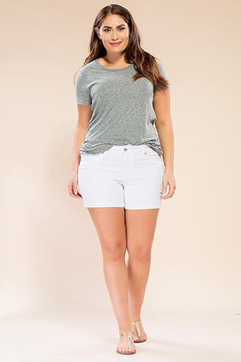 Women Plus Size WannaBettaButt Shorts